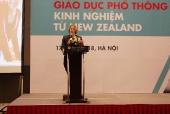 Gần 100 trường tham dự Hội thảo về kỹ năng cho học sinh trong tương lai của New Zealand