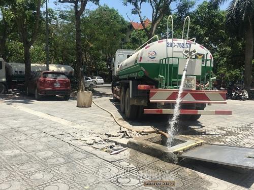 Xây hơn 12km đường ống cấp nước sạch cho 3 huyện phía Nam Hà Nội