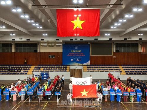 Sôi nổi Hội khỏe Hội Nhà báo thành phố Hà Nội lần thứ 25