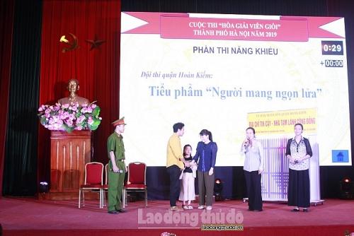 Sôi nổi chung khảo Cuộc thi Hòa giải viên giỏi Thành phố Hà Nội 2019