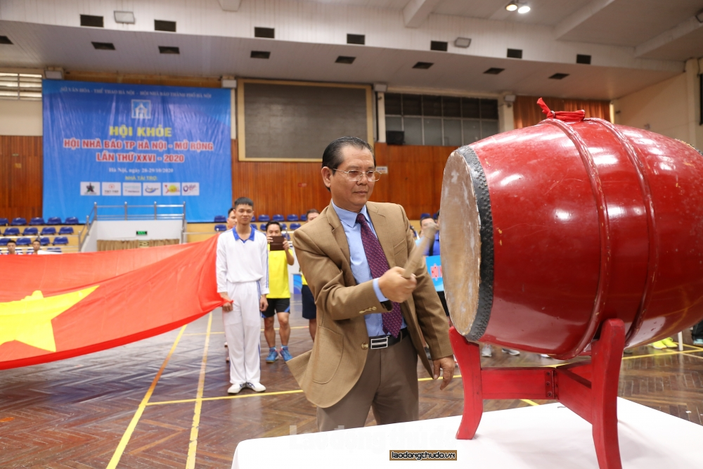 Khai mạc Hội khỏe Hội Nhà báo thành phố Hà Nội mở rộng lần thứ 26 năm 2020