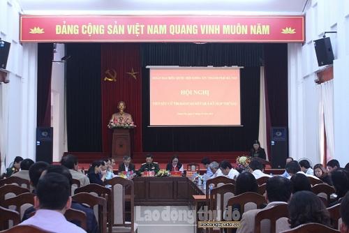 Đại biểu Quốc hội Thành Phố Hà Nội tiếp xúc cử tri huyện Thanh Trì