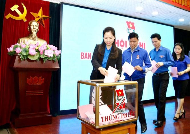 Đồng chí Nguyễn Anh Tuấn được bầu giữ chức Bí thư thứ nhất Trung ương Đoàn