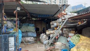 Tiềm ẩn nguy cơ cháy nổ từ các nhà kho chứa phế liệu