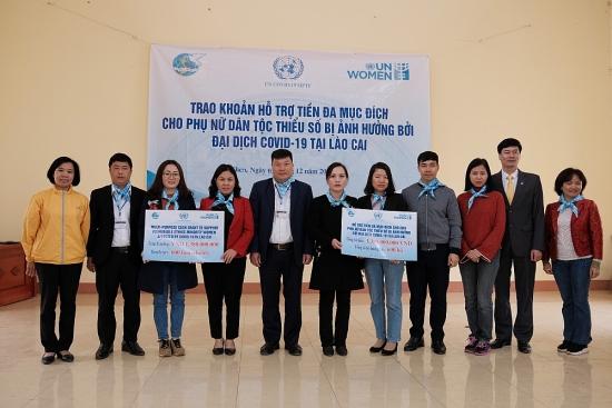 UN Women hỗ trợ phụ nữ dân tộc thiểu số bị ảnh hưởng bởi dịch Covid-19 tại Lào Cai