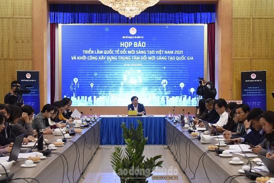Triển lãm quốc tế đổi mới sáng tạo Việt Nam 2021