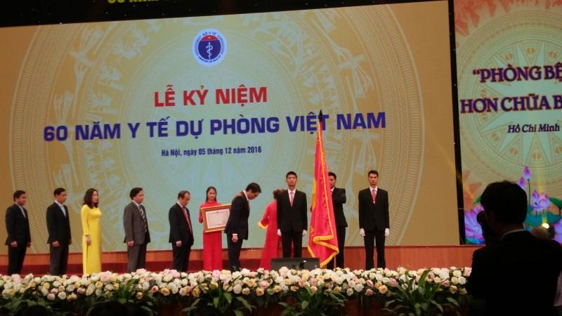 Vẻ vang truyền thống 60 năm y tế dự phòng Việt Nam