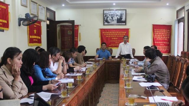 LĐLĐ tỉnh Thanh Hóa đã sẵn sàng cho Đại hội điểm toàn quốc
