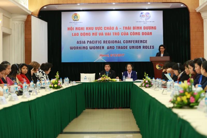 Công đoàn Việt Nam dành nhiều sự quan tâm cho lao động nữ