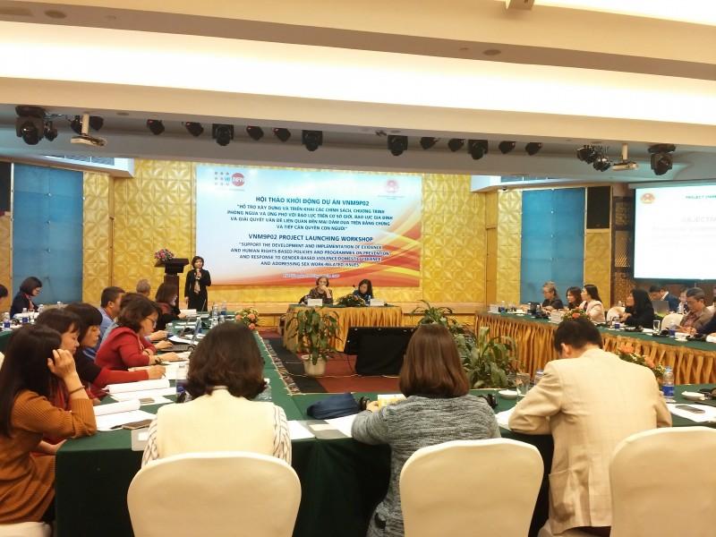 4,1 triệu USD để phòng ngừa và ứng phó với bạo lực giới tại Việt Nam