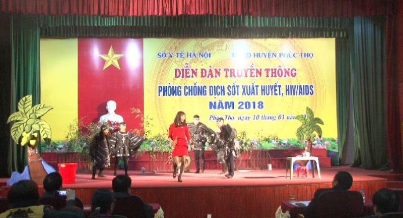 Chủ động phòng, chống dịch sốt xuất huyết, HIV/AIDS năm 2018