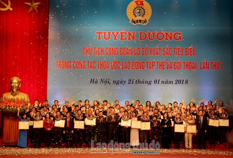 Tuyên dương 70 Chủ tịch CĐCS xuất sắc tiêu biểu
