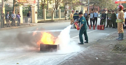 Nâng cao kiến thức về phòng cháy chữa cháy và cứu nạn cứu hộ cho 115 học viên