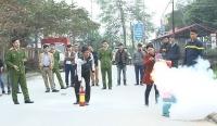 Hơn 200 học viên được tập huấn phòng cháy chữa cháy