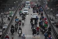 Hà Nội: AQI tại các trạm quan trắc giao thông cao nhất trong ngày