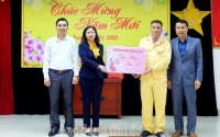 Thăm, tặng quà cho đoàn viên, người lao động dịp Tết Canh Tý 2020