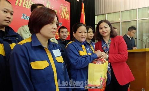 Lãnh đạo Thành ủy và LĐLĐ Thành phố thăm, tặng quà Tết Công ty TNHH MTV Vườn thú Hà Nội