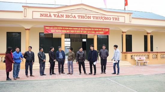 Chung sức xây dựng xã nông thôn mới nâng cao