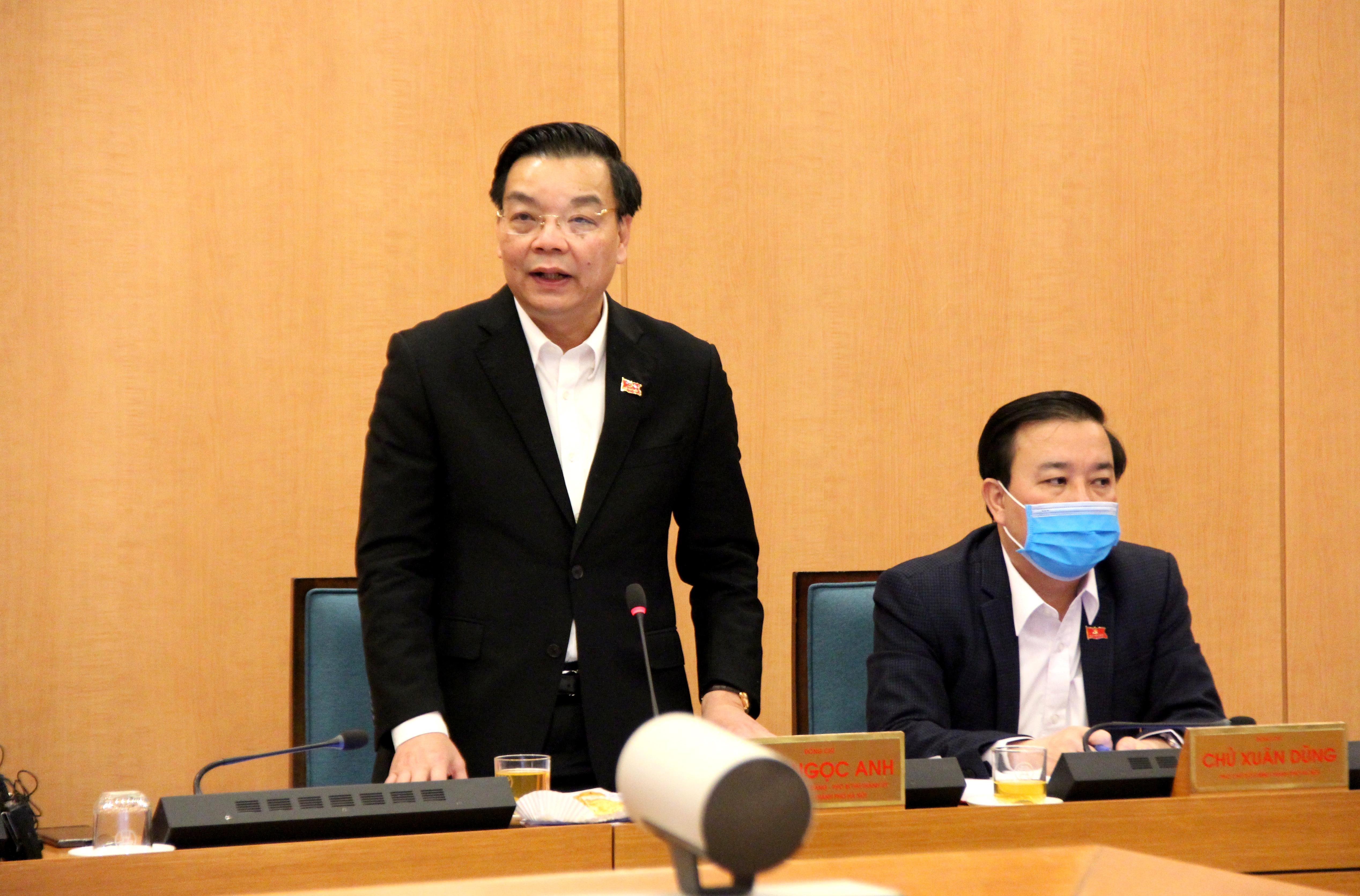 Bí thư Thành ủy Vương Đình Huệ: Công tác phòng, chống dịch Covid-19 phải quyết liệt và quyết đoán hơn