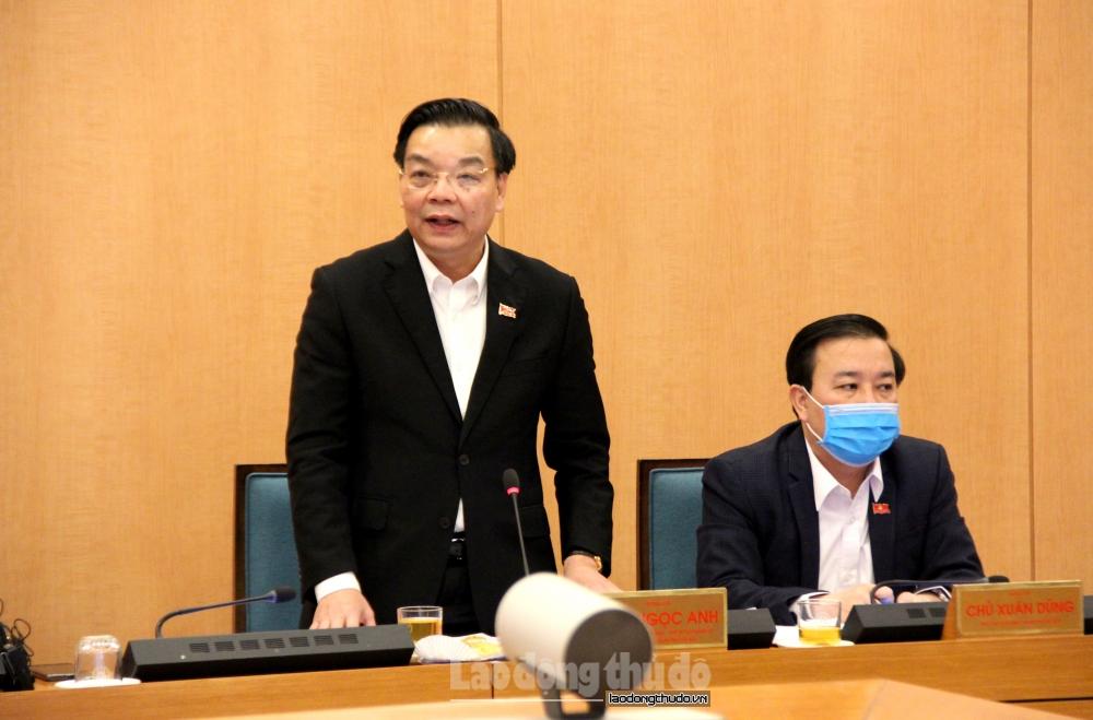 Chủ tịch Uỷ ban nhân dân thành phố Hà Nội yêu cầu sẵn sàng mọi tình huống phòng chống dịch Covid-19