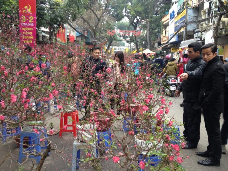 Chợ hoa Hàng Lược – nơi lưu giữ những ký ức về Tết xưa của người Hà thành