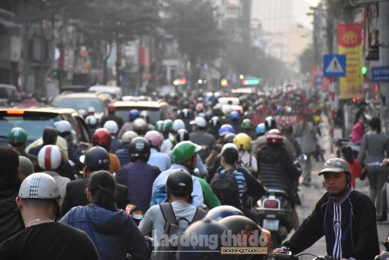 Hà Nội: Gần 100% khu vực chất lượng không khí ở mức kém
