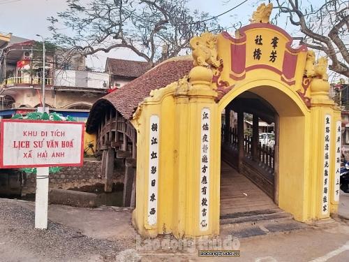 Độc đáo cây cầu Ngói dáng rồng bay ở xứ Thành Nam