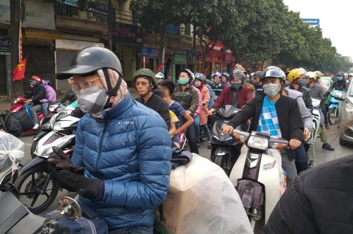 Chất lượng không khí các khu vực giao thông và dân cư đều ở mức xấu, kém