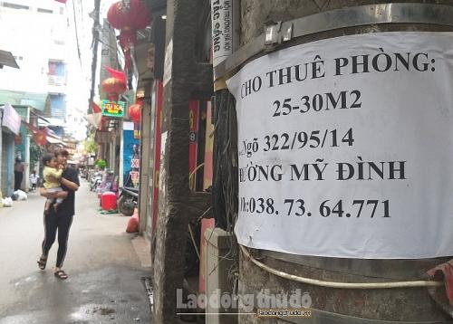 Hà Nội: Nhu cầu thuê, cho thuê phòng trọ sau Tết tăng cao
