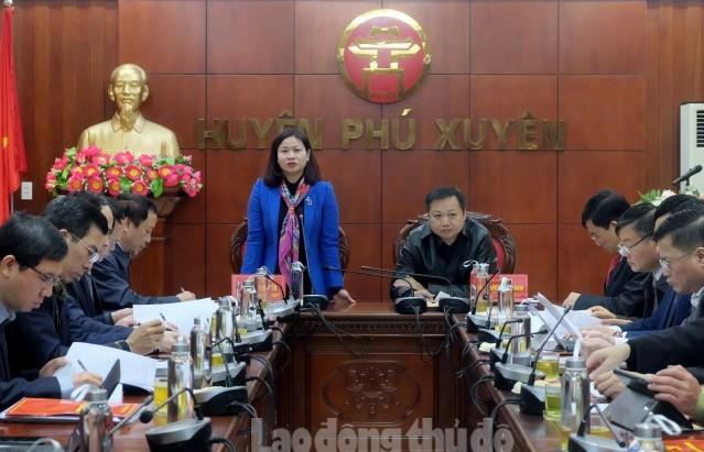 Huyện ủy Phú Xuyên: Tập trung làm tốt công tác chuẩn bị đại hội Đảng các cấp