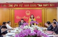 Kiểm tra công tác chuẩn bị tổ chức Đại hội Đảng các cấp tại huyện Thạch Thất