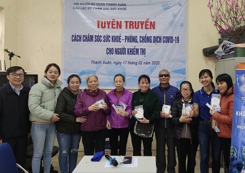 Giúp người khiếm thị phòng, chống dịch Covid-19