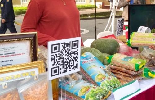 Nhân lên niềm tin với nông sản Thủ đô khi ứng dụng mã QR