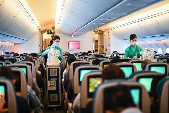 Vietnam Airlines siết chặt phòng, chống dịch trong dịp cao điểm Tết Nguyên đán 2021
