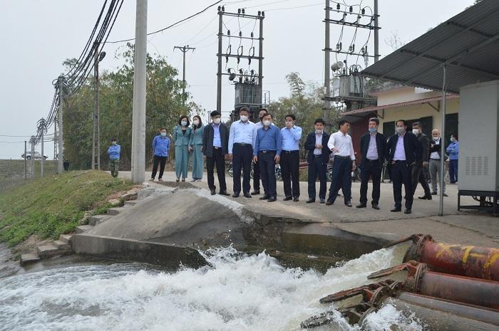 Hà Nội: Đảm bảo cấp nước phục vụ sản xuất nông nghiệp vụ Đông Xuân
