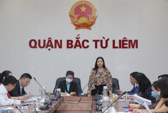 Bàn giải pháp kết nối, tiêu thụ nông sản tại quận Bắc Từ Liêm và huyện Mê Linh