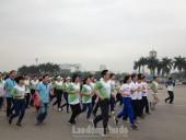 Gần 8.000 người tham gia Ngày chạy Olympic Vì sức khoẻ toàn dân năm 2018
