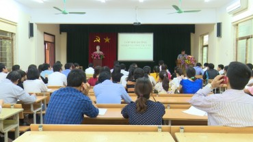 Đông Anh: Bồi dưỡng nghiệp vụ công tác Y tế năm 2018