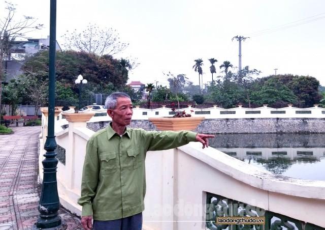 """Lão nông ủng hộ tiền tỷ để """"hồi sinh"""" ao làng"""