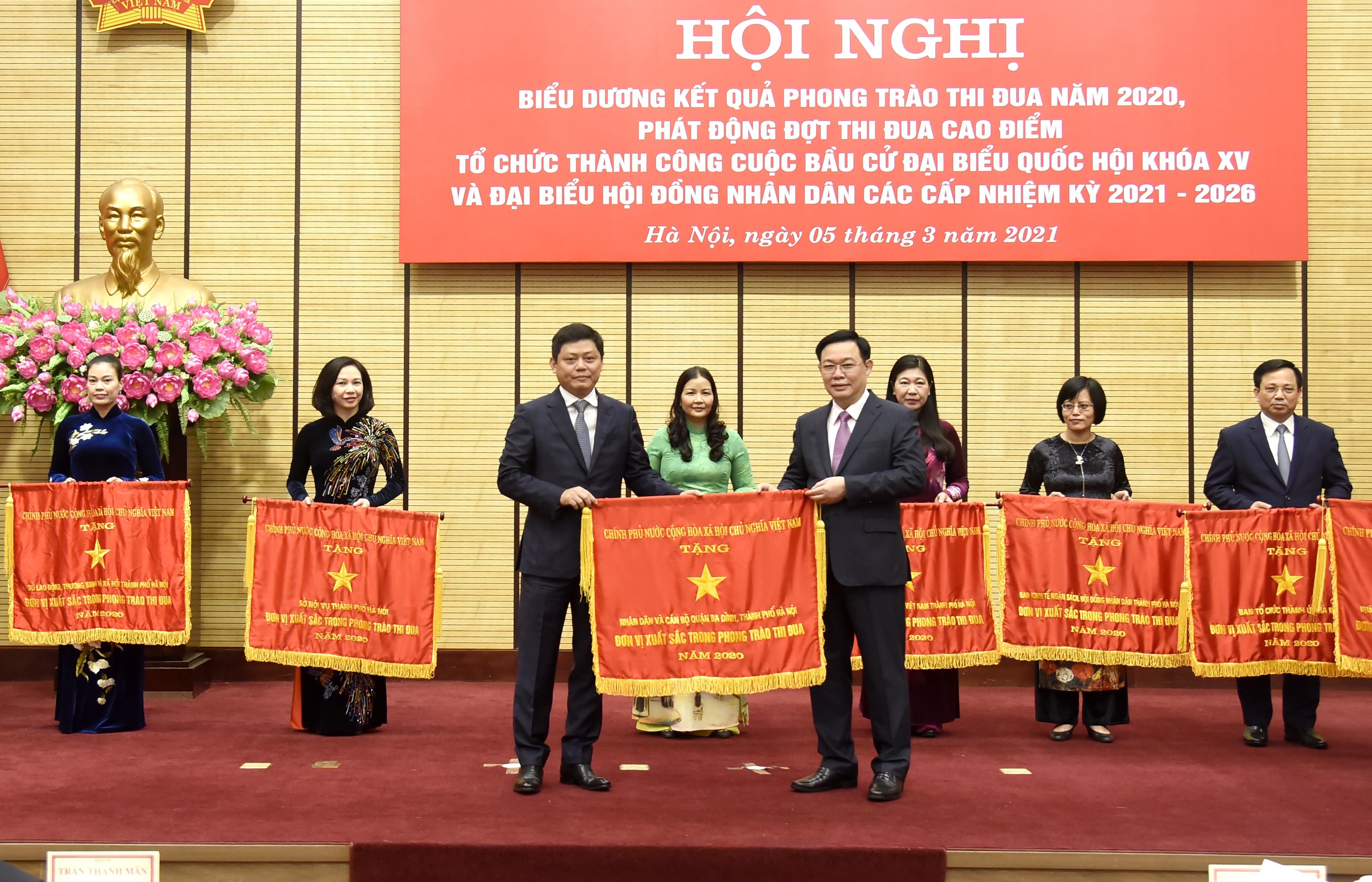 Hà Nội: Phát động đợt thi đua cao điểm tổ chức thành công công tác bầu cử
