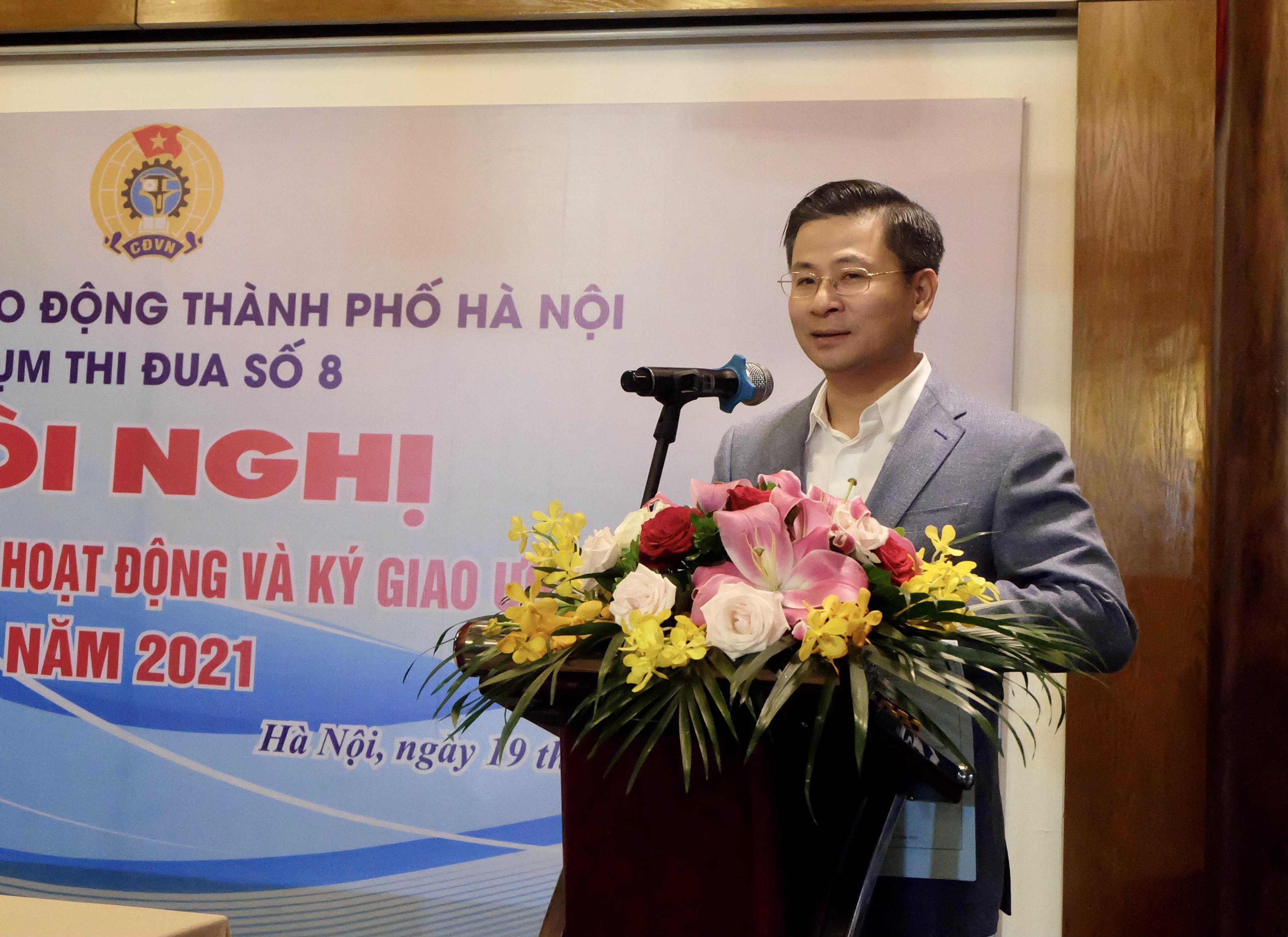 Chủ tịch Liên đoàn Lao động Thành phố: Chú trọng xây dựng và nhân rộng điển hình tiên tiến