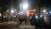 Hà Nội: Cháy shop thời trang trên phố Hai Bà Trưng