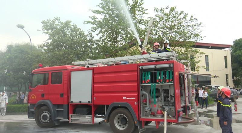 Tăng cường công tác phòng cháy chữa cháy mùa nắng nóng