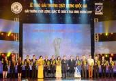 73 doanh nghiệp nhận Giải thưởng Chất lượng Quốc gia năm 2017
