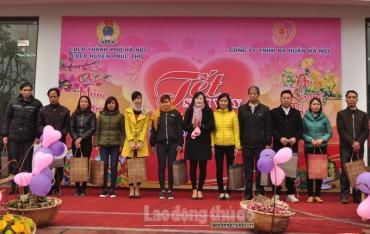 LĐLĐ huyện Phúc Thọ: Thiết thực các hoạt động chăm lo cho đoàn viên, người lao động