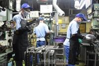 Sản xuất công nghiệp đạt mức tăng trưởng cao trong quý I/2019