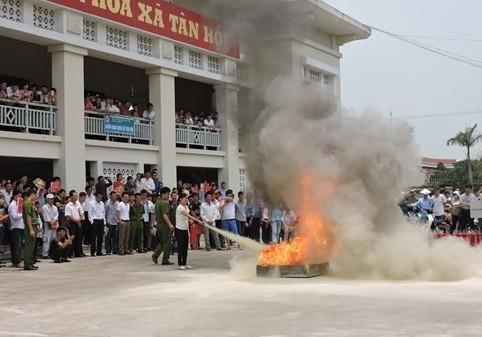 Huyện Phúc Thọ: Chủ động trong công tác phòng cháy chữa cháy