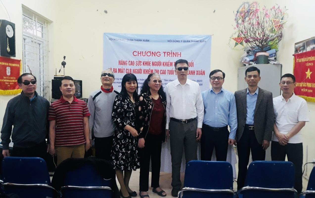 Giúp người khiếm thị cao tuổi chủ động phòng tránh bệnh đột quỵ