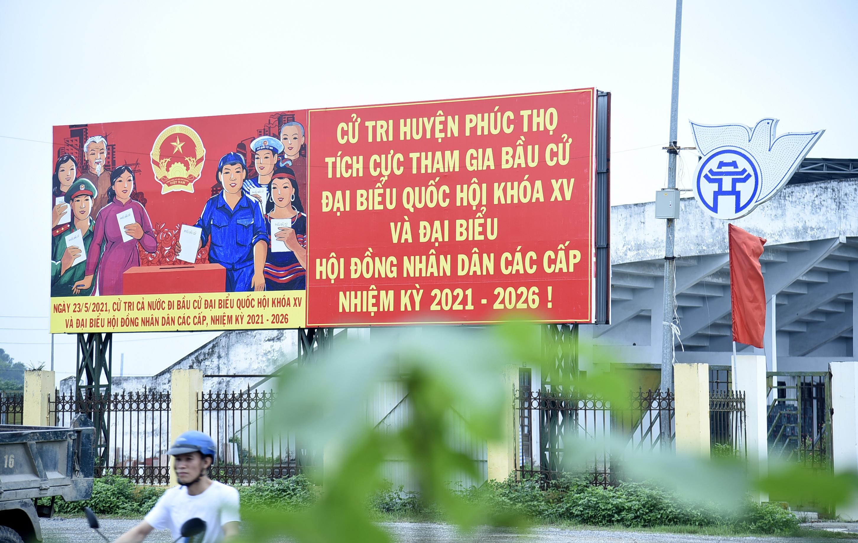 Huyện Phúc Thọ rộn ràng chào đón ngày hội toàn dân