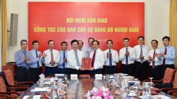 Ông Bùi Thanh Sơn chính thức nhận nhiệm vụ Bộ trưởng Bộ Ngoại giao